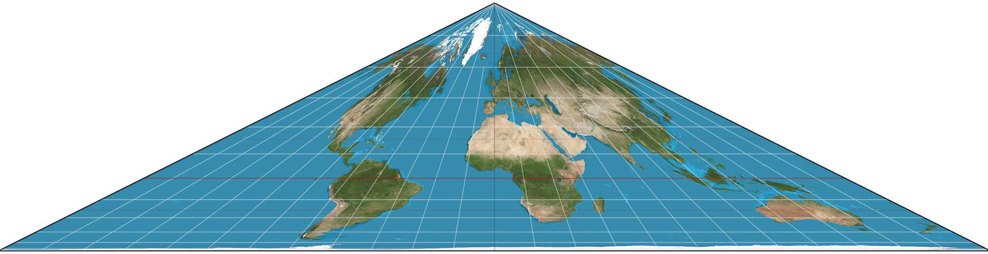 cartographie du monde Collignon