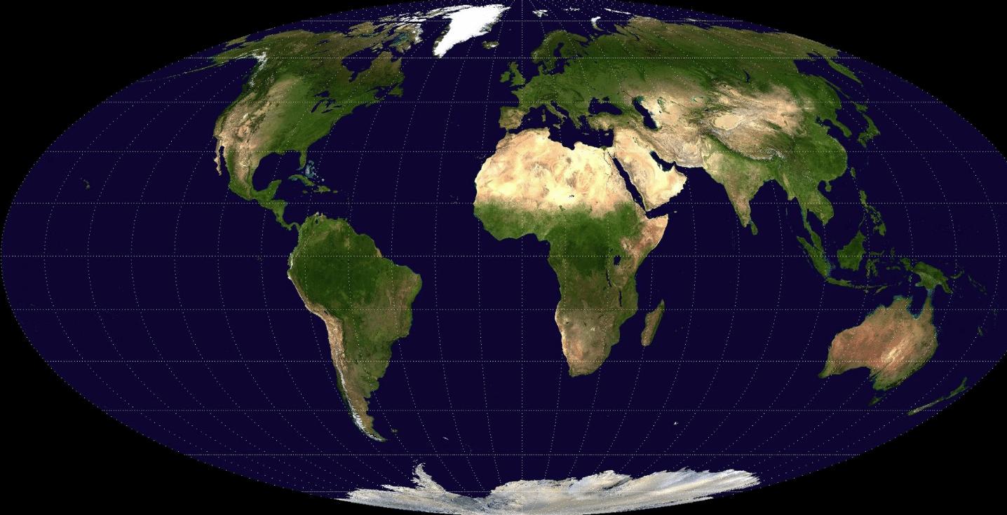 cartographie du monde Babinet
