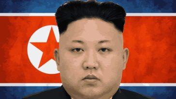 Corée du Nord président drapeau