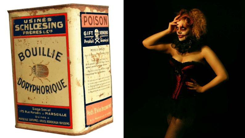 arsenic poison beauté femmes