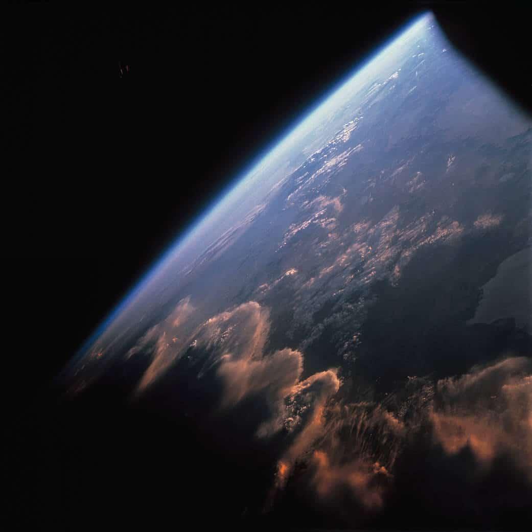 Missions Gemini Terre depuis l'espace