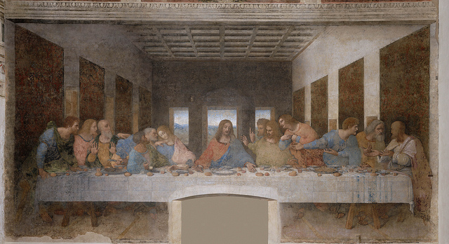 tableaux la Cène art milan