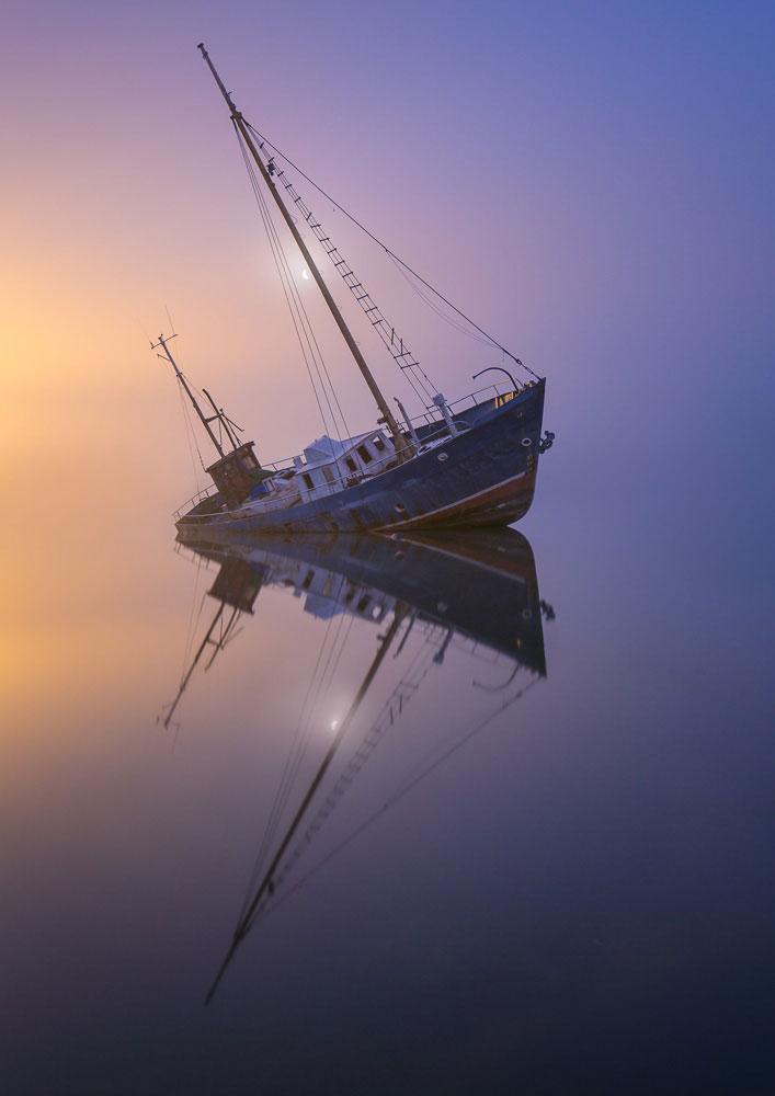 22 épaves de bateaux fantomatiques après leur naufrage - La Liste