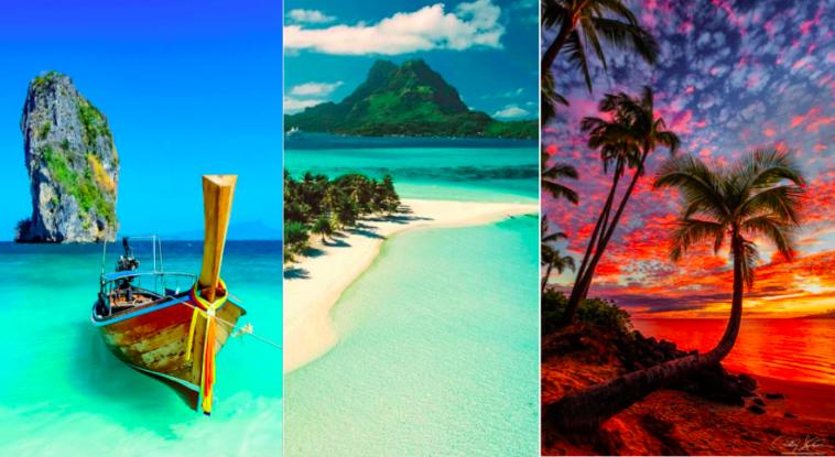 10 belles les et plages paradisiaques du monde visiter for Visite dans le 78