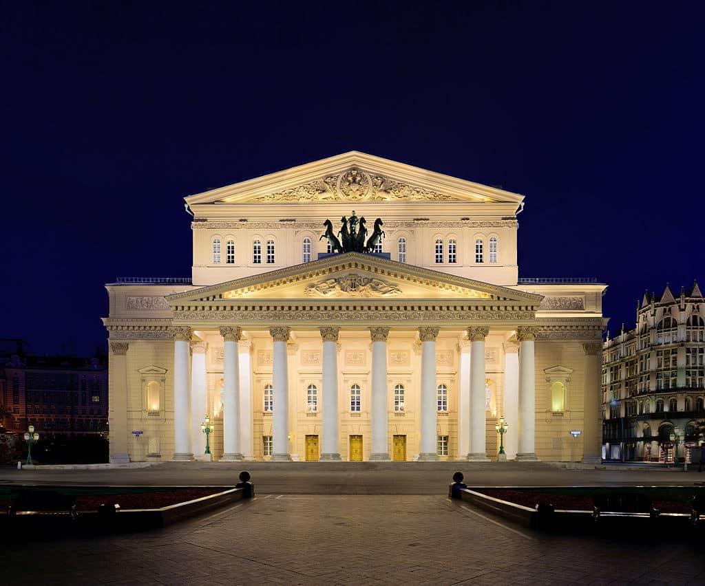 Théâtre Bolchoi en Russie