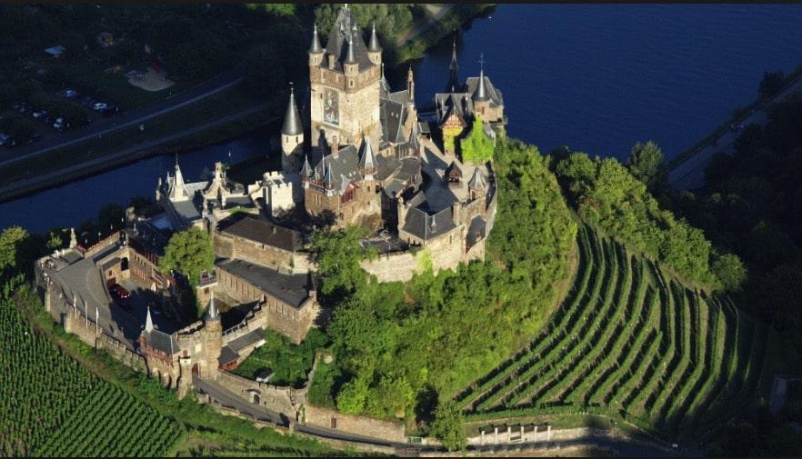 châteaux et forteresses d'Europe
