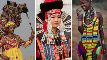 costumes traditionnels du monde