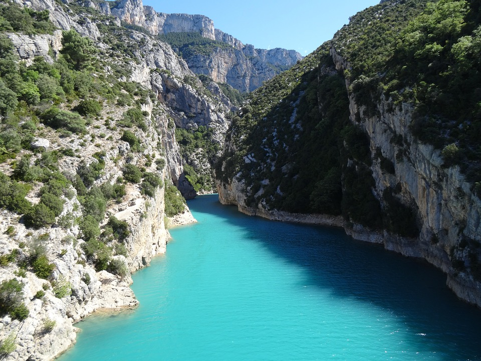 Gorges du Verdon paysages France