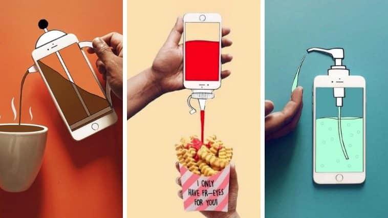iPhone multiusage dessins originaux