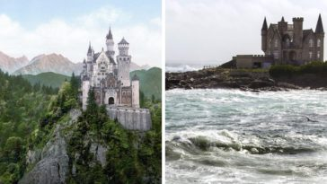 plus beaux châteaux du monde