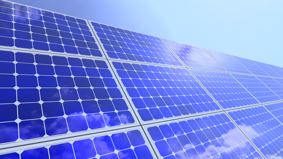panneaux solaires NASA
