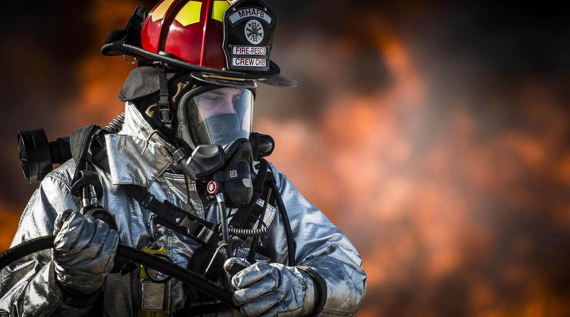 pompier feu incendie