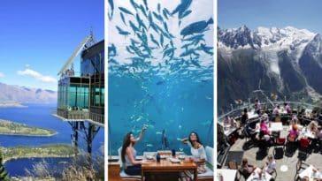 restaurants panoramiques à travers le monde