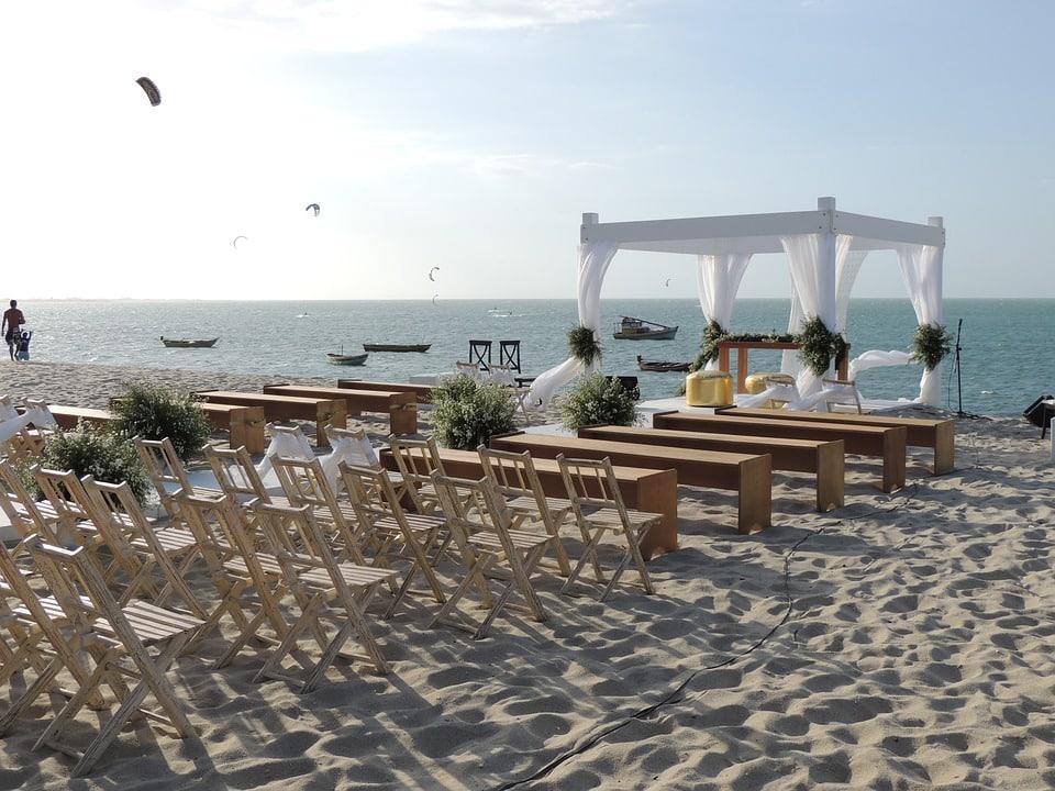 mariage sur la plage cérémonie