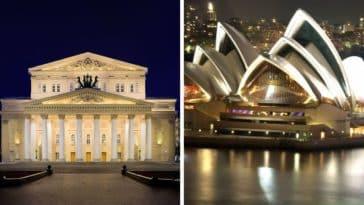 théâtres et opéras à travers le monde