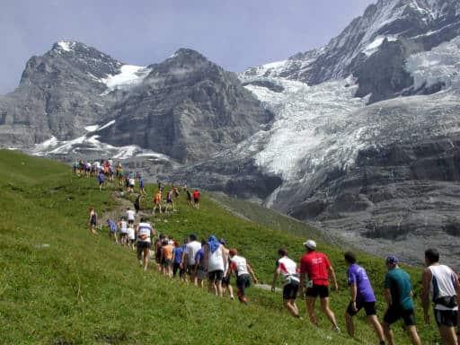 marathon Suisse montagnes