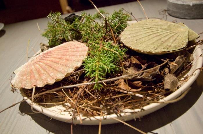 astrance restaurant meilleur chef du monde barbot coquillage plat
