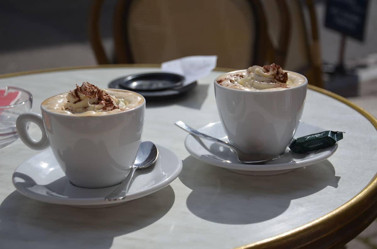 cafés viennois ou liégeois