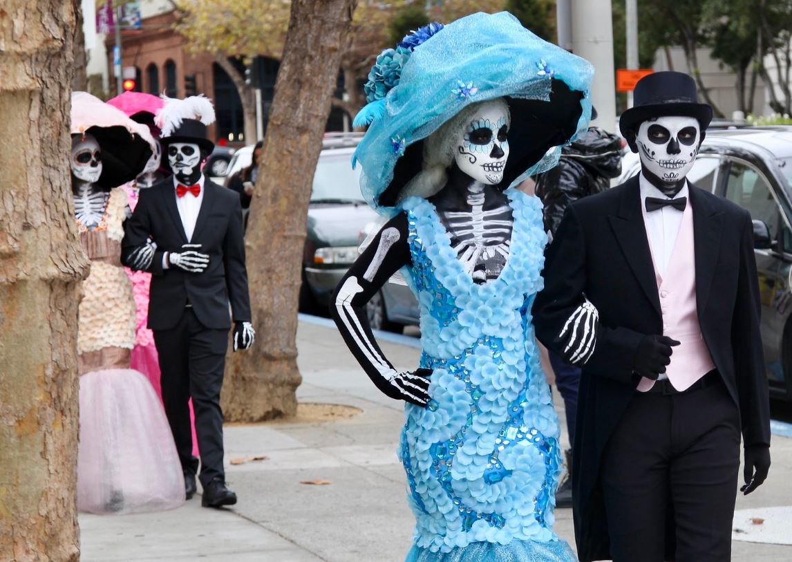 El dia de los muertos Mexique fêtes à travers le monde