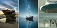épaves de bateaux fantomatiques à travers le monde