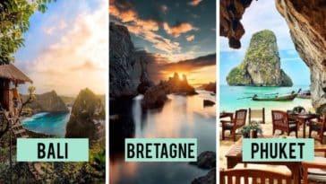 îles paradisiaques à travers le monde