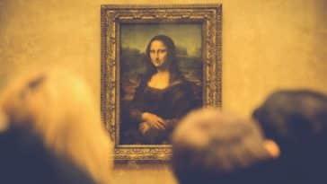tableau d'art toile de maitre la Joconde Leonard de Vinci