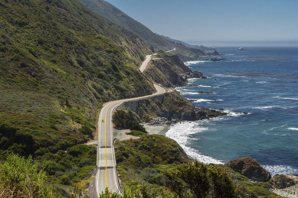 marathons à travers le monde océan Big Sur Californie