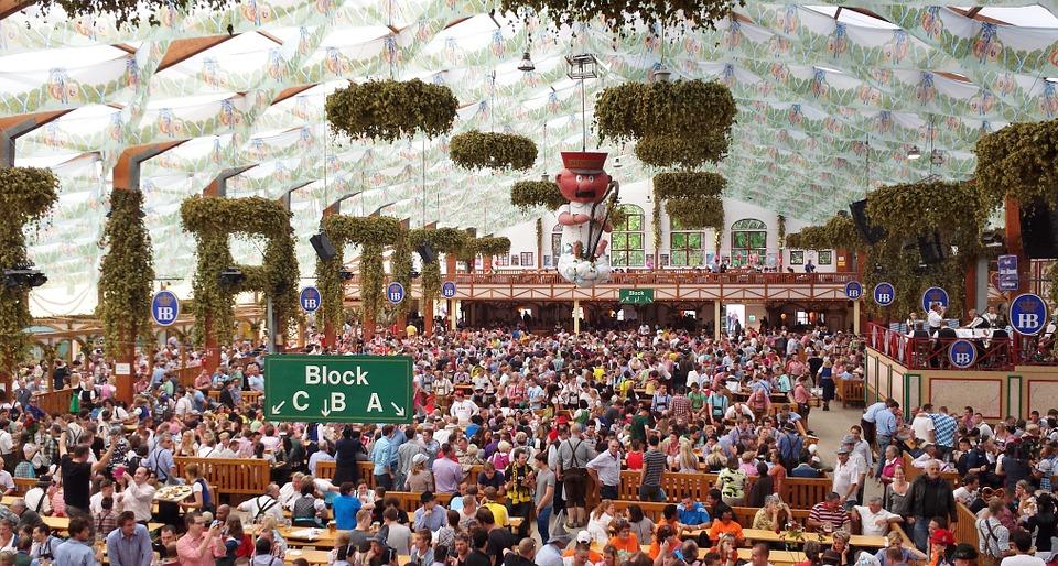 oktoberfest festival de la bière en Allemagne