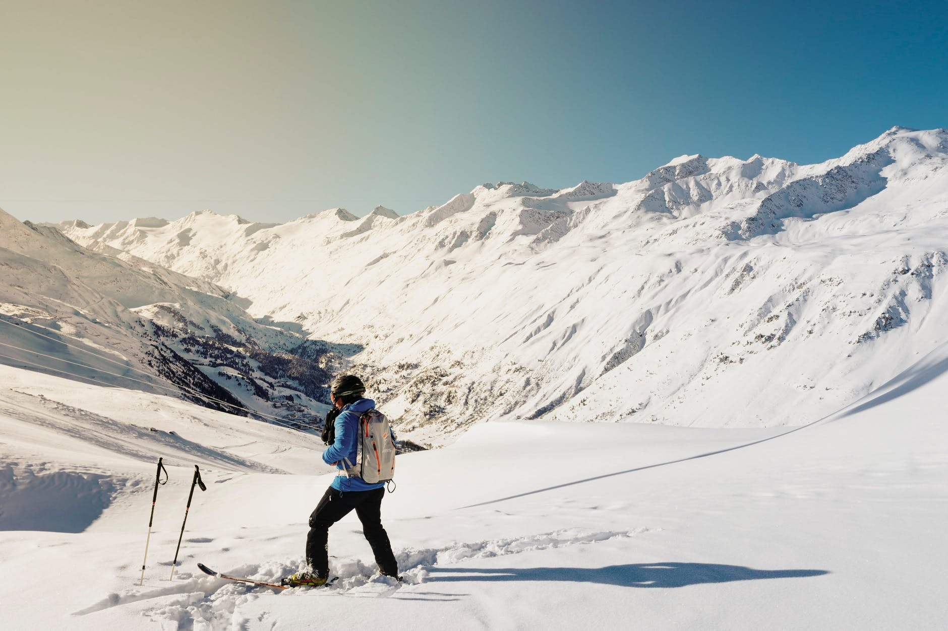 pistes de ski montagne hiver
