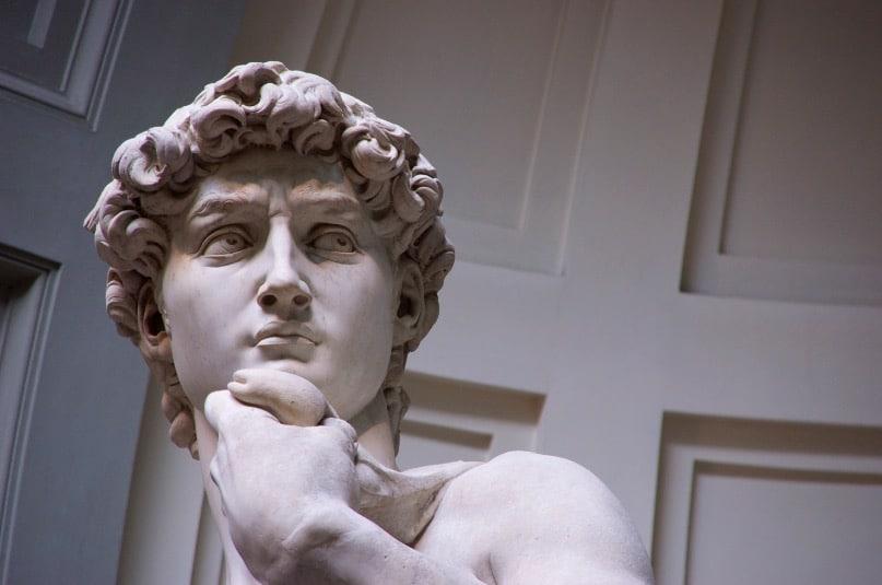 sculpture david michel ange italie art