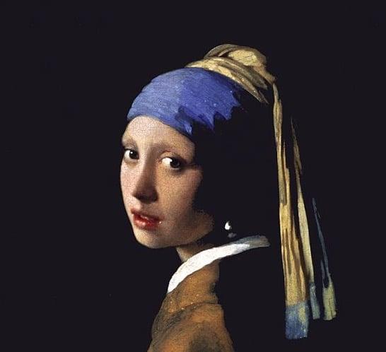 tableau art incontournable jeune fille a la perle peinture veermer
