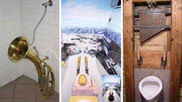 toilettes insolites WC incroyables