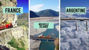 trains insolites paysages monde
