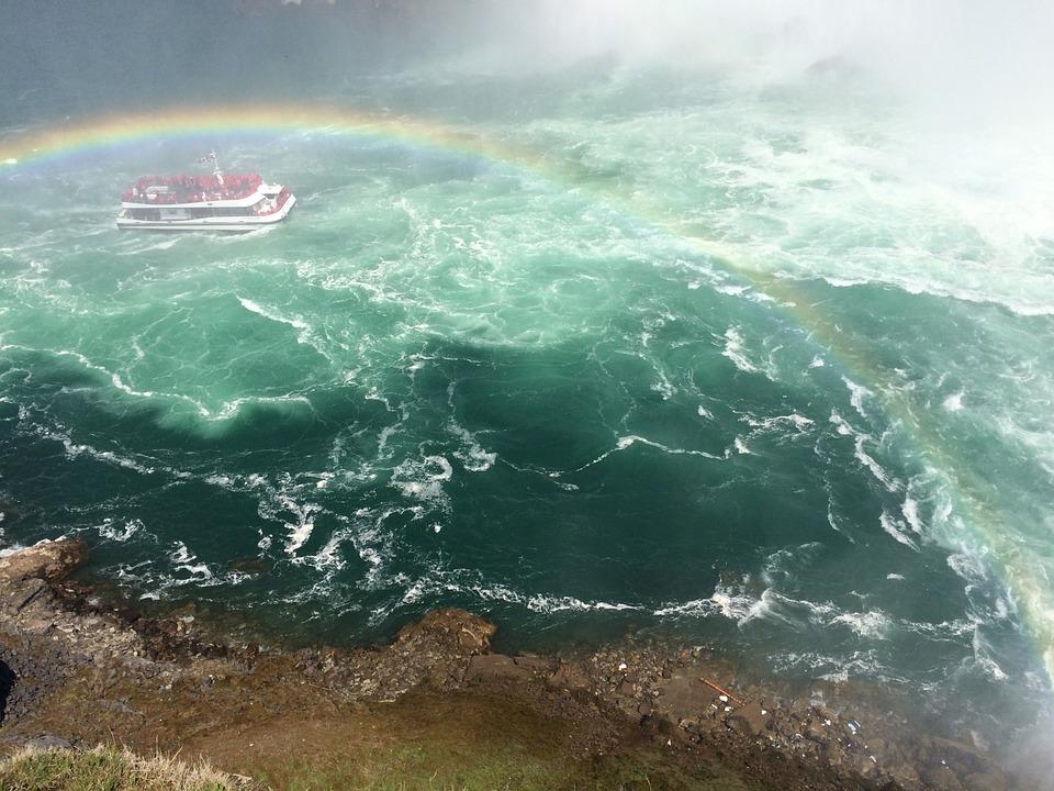 chutes du niagara bateau