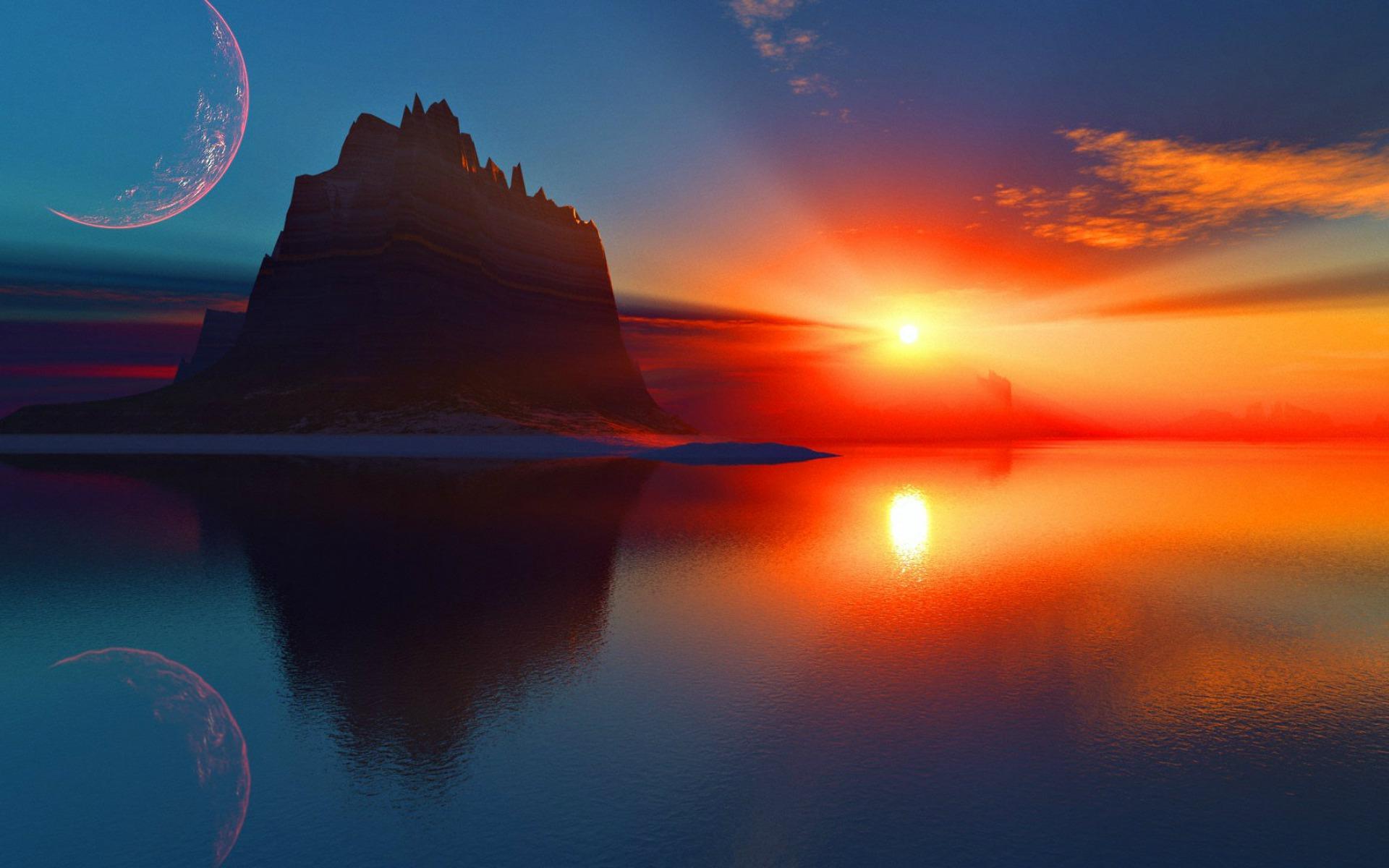 Les 30 plus beaux couchers de soleil travers le monde la liste - Palpitations le soir au coucher ...