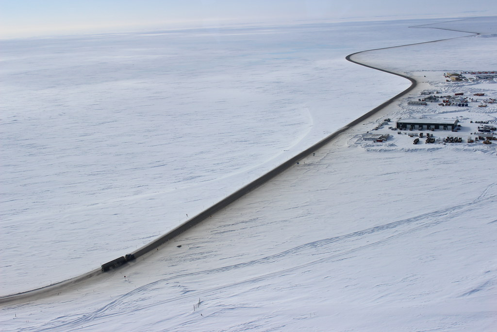 Dalton Highway route dangereuse en alaska