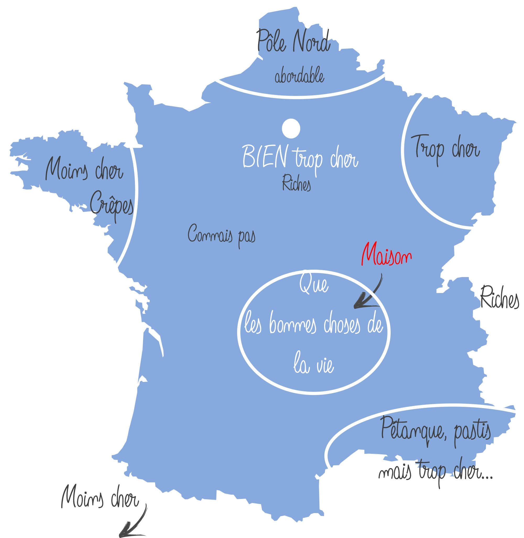 La France vue par les auvergnats