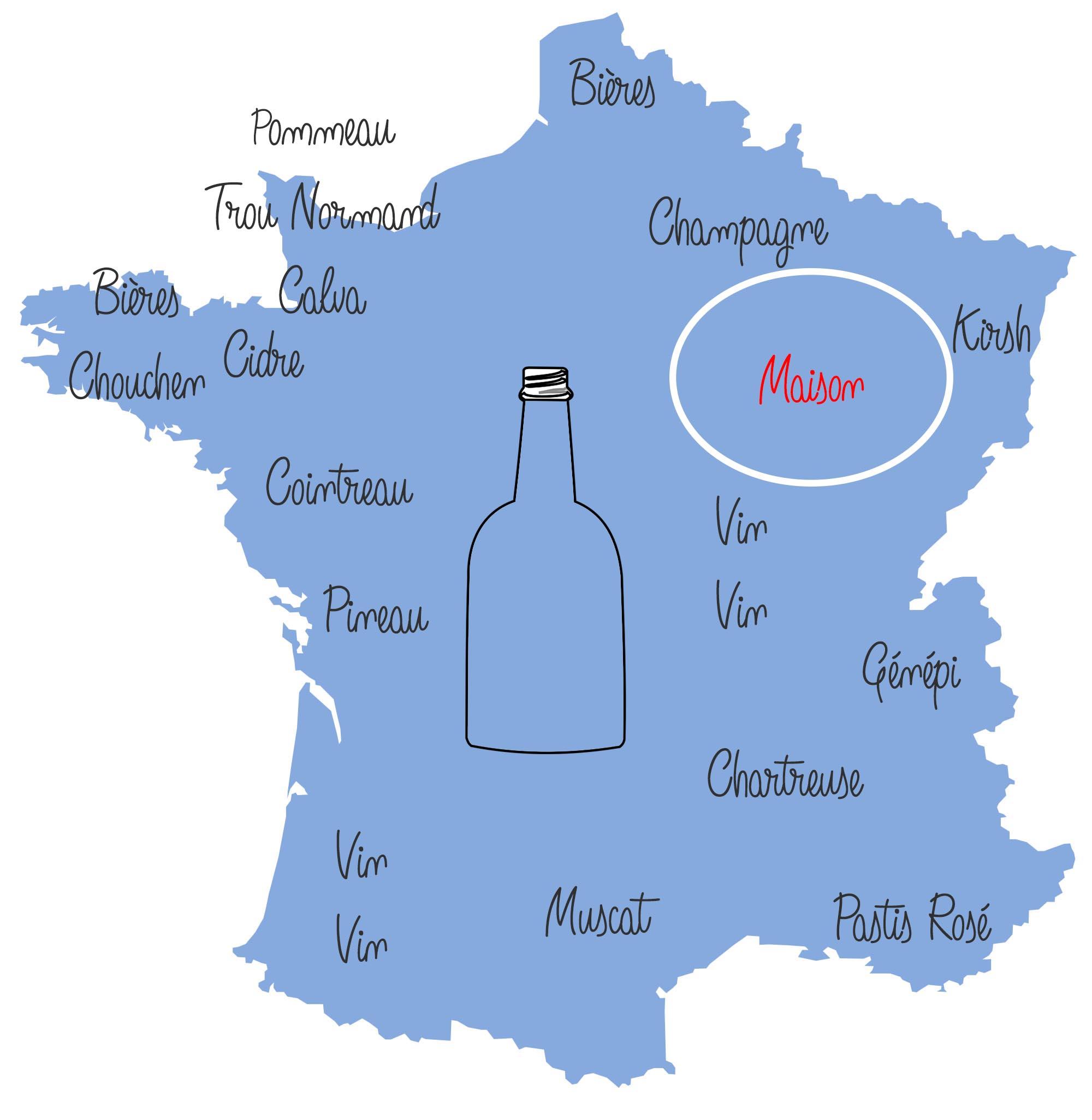 La France vue par les bourguignons