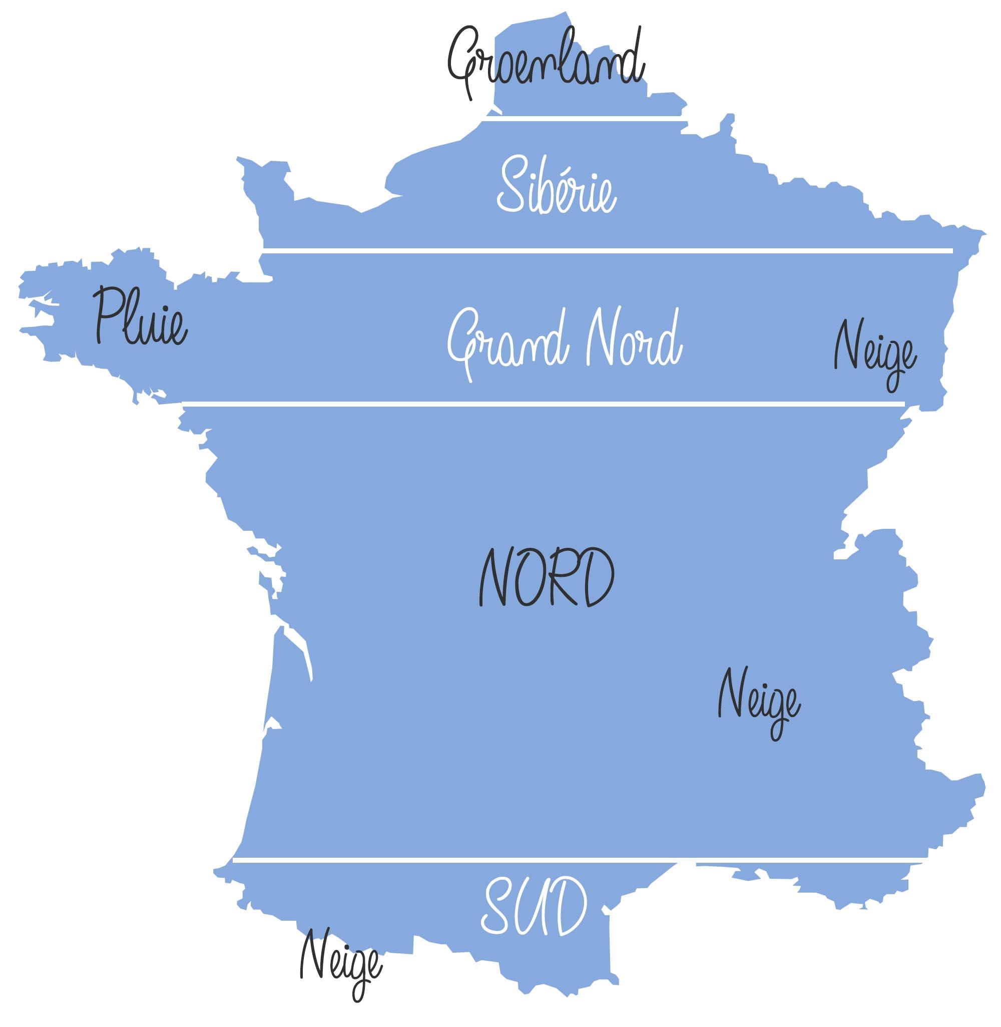 La France vue par les gens du sud