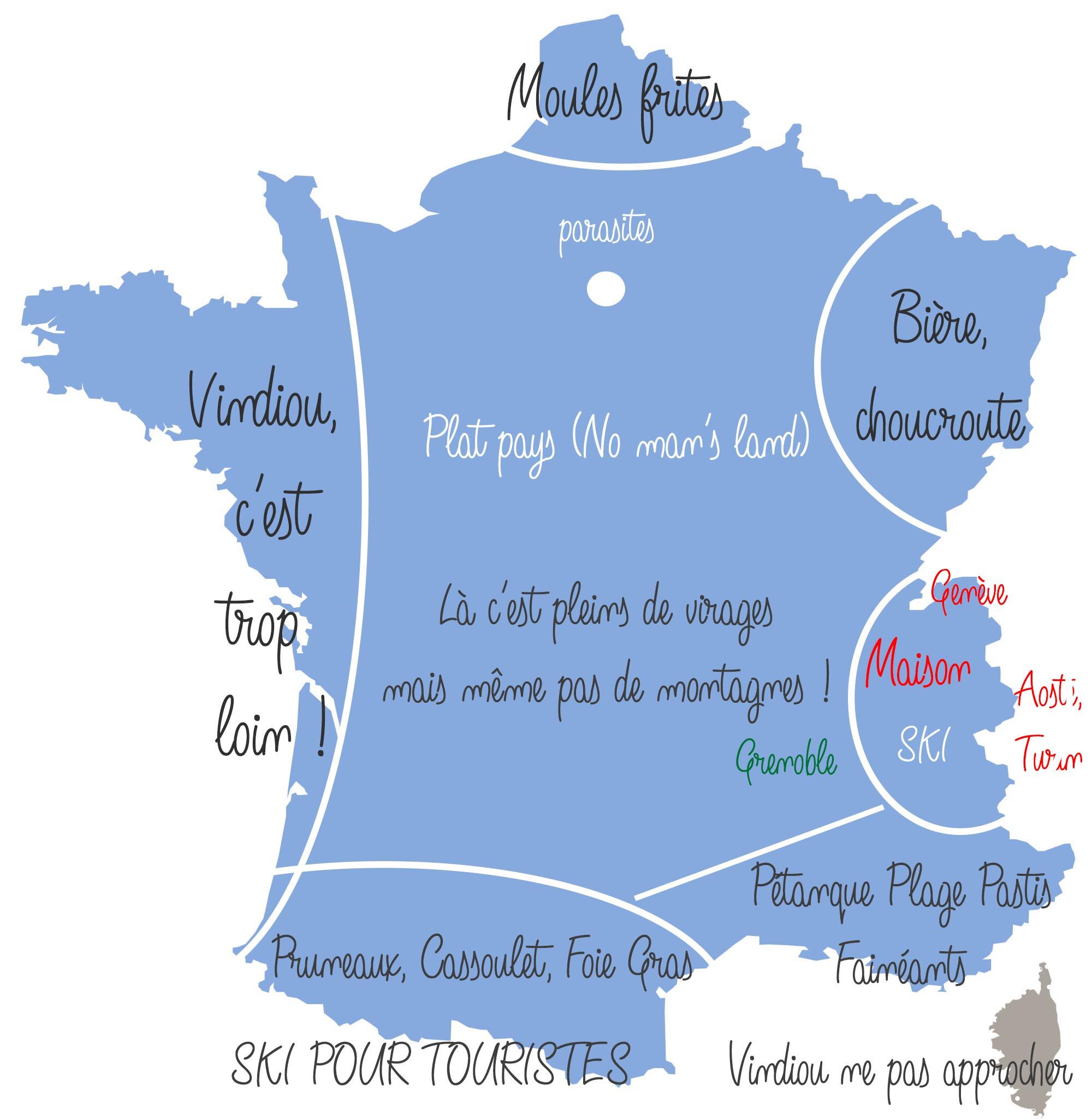 La France vue par les savoyards
