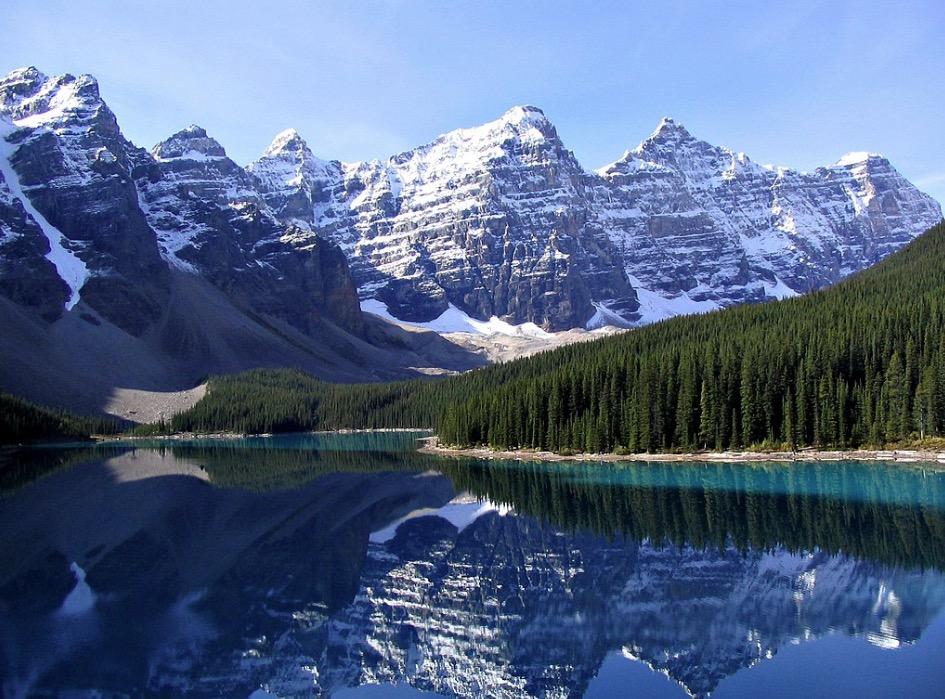 Moraine Lake lac Canada
