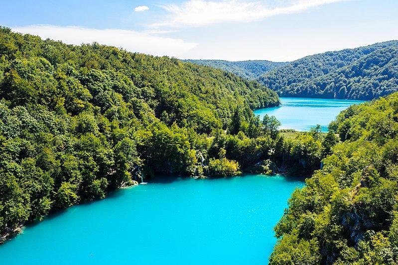 Plitvice Lakes lac plus beau monde Croatie