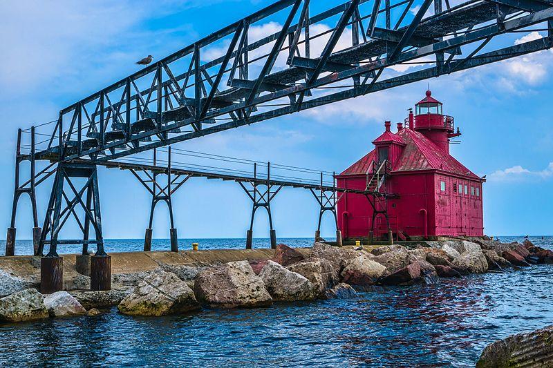 photo de phare Sturgeon Bay USA
