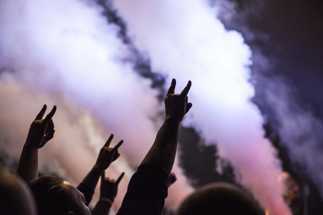 doigts rock concert
