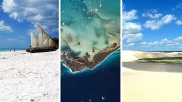 liste des plus belles plages du monde sable paradisiaques