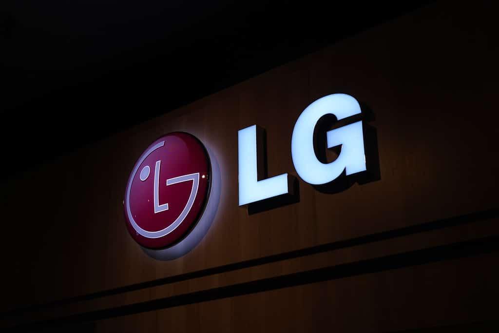 logo LG marque téléphone
