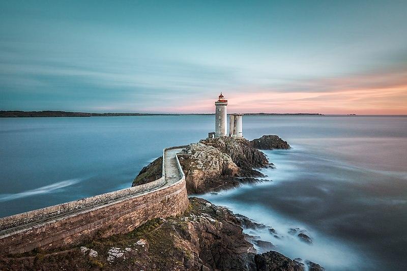 phare Petit Minou Bretagne photo de phare calme mer