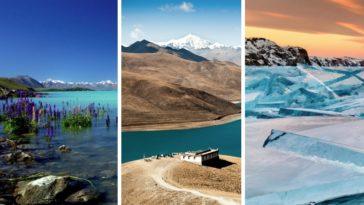 les plus beaux lacs du monde planète terre