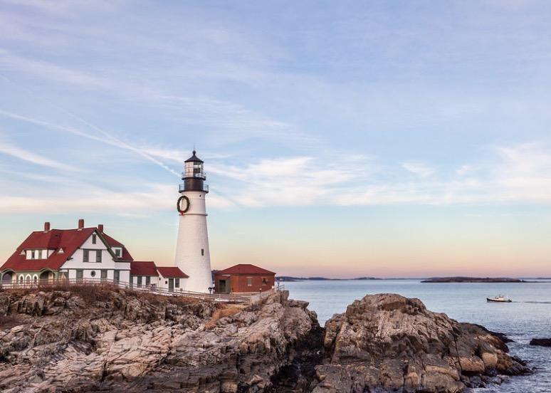 Portland Head phare océan USA