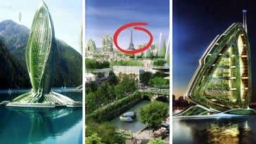 villes et capitales futuristes